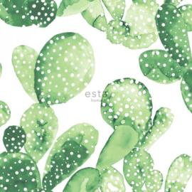 Esta Greenhouse Cactus behang tropisch jungle groen 138902