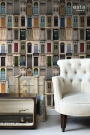 Esta Home Brooklyn Bridge WallpaperXXL Oude Deuren 158504
