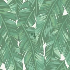 Esta Home Jungle Fever behang Bananenbladeren 139014