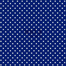 051. Esta Home Stip donkerblauw wit