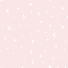 Stars and Moon 90981 roze