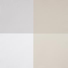 Life Blokkenbehang in beige wit grijs zand