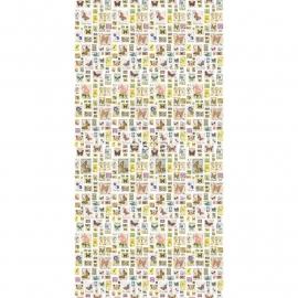 68. Esta Home Fotobehang Postzegels