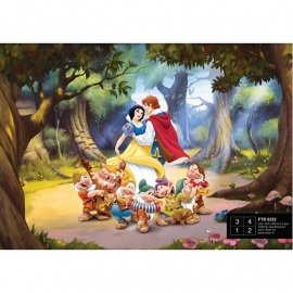 Dutch Wallcoverings Fotobehang Disney Sneeuwwitje