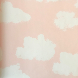 Puck & Rose behang Wolken 27109  Roze