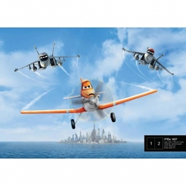 Dutch Wallcoverings Fotobehang Disney Planes FTD 1927