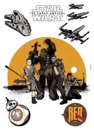 Star Wars Stickers 14025h