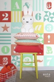 Esta Home Everybody Bonjour WallpaperXXL Blokken 158702