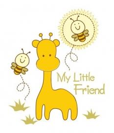 13074 My Little Friend Dutch DigiWalls Olly Fotobehang