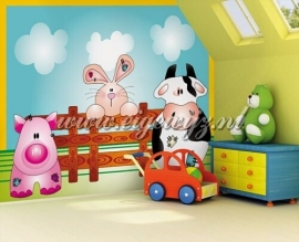 41. Noordwand Little Ones Fotobehang Farm Animals 418041