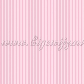 Minnie Mouse Streepjesbehang in roze 73699