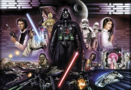 Star Wars Darth Vader Collage fotobehang 8-482