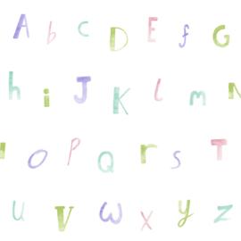 Alfabet Pastel 12562
