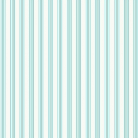 Pin stripe aqua behang W002200801