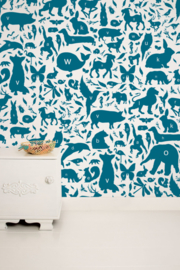 KEK Amsterdam Kids behang ABC Animals WP-049