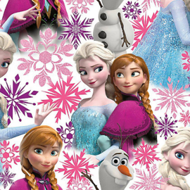 Frozen Anna Elsa Pink 101394