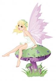 13033 Fairy Tale Dutch DigiWalls Olly Fotobehang