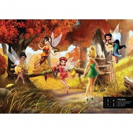 Dutch Wallcoverings Fotobehang Disney Fairies FTD0251