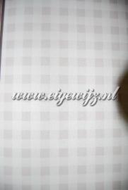 My Dear Grijs-Bruin Ruitjesbehang 7603