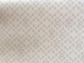 Onszelf Fantasiebehang  wit grijs OZ 3253