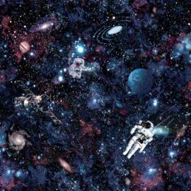 Ruimtevaart behang 12500