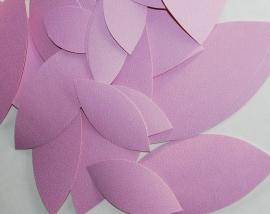 Behangblaadjes paars