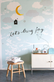 Little OZP 3767 Let's Bring JOY Blauw
