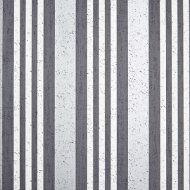 Life Streepbehang antraciet creme metalic grijs