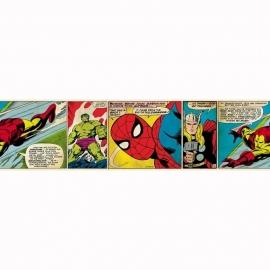 Kids@Home Marvel Comic Strip behangrand 90-042