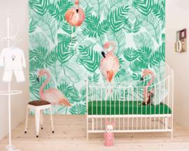Little OZP 3771 Flamingo in de bladeren