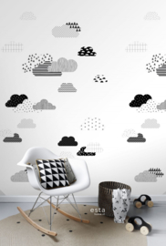 Esta Home Let's Play! PhotowallXL Clouds 158922