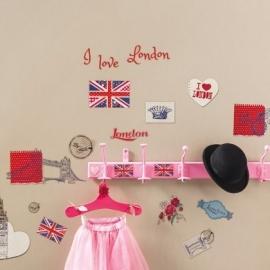 Caselio Londen Stickers