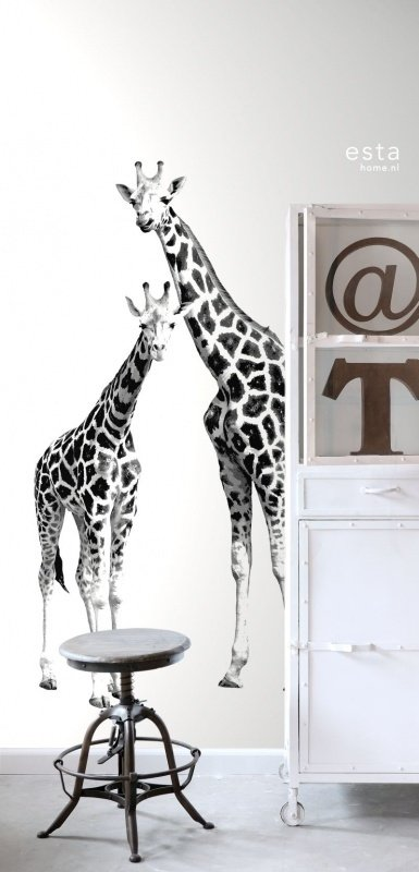 Esta Home Everybody Bonjour PhotowallXL giraffen 158701