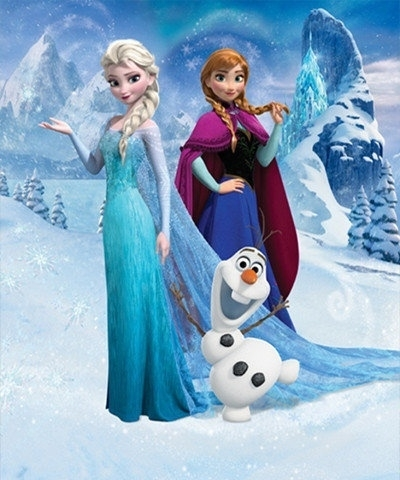Walltastic 3D Disney Frozen