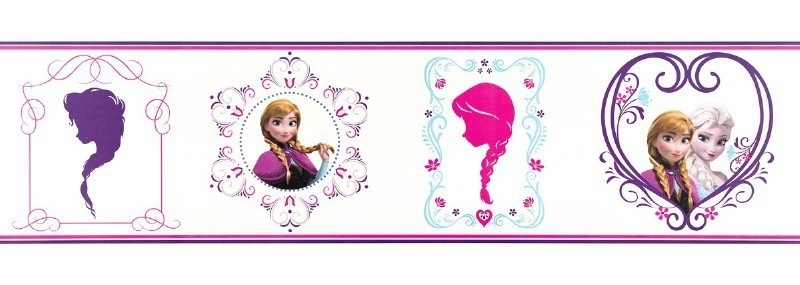 Kids@Home Disney Frozen Frames behangrand 90-065