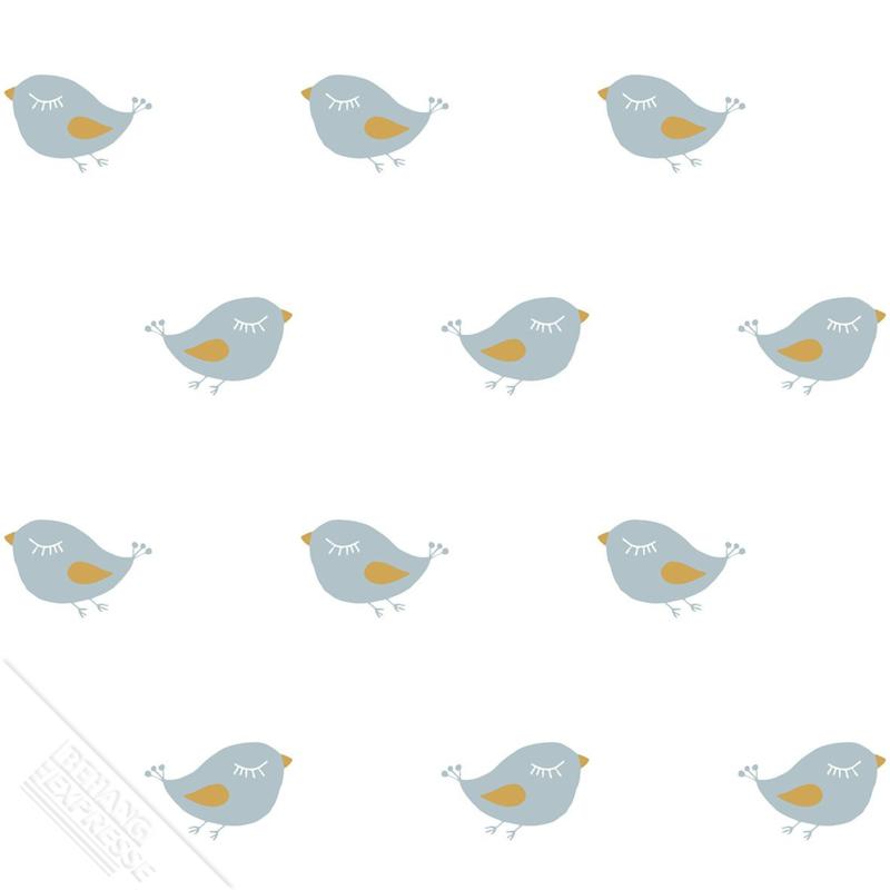 Vogeltjes Behang Lief.Vogeltjes Meisjes