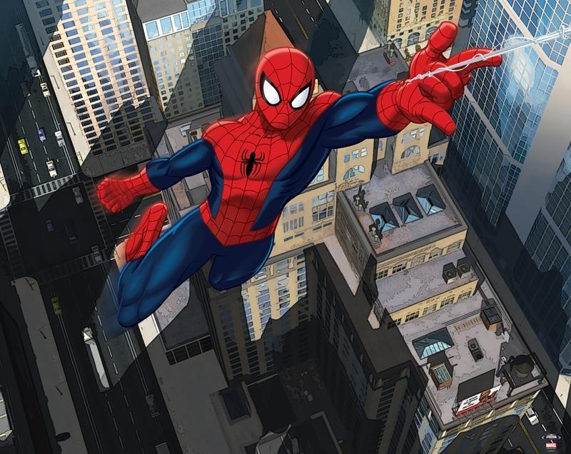 Walltastic Spiderman Posterbehang