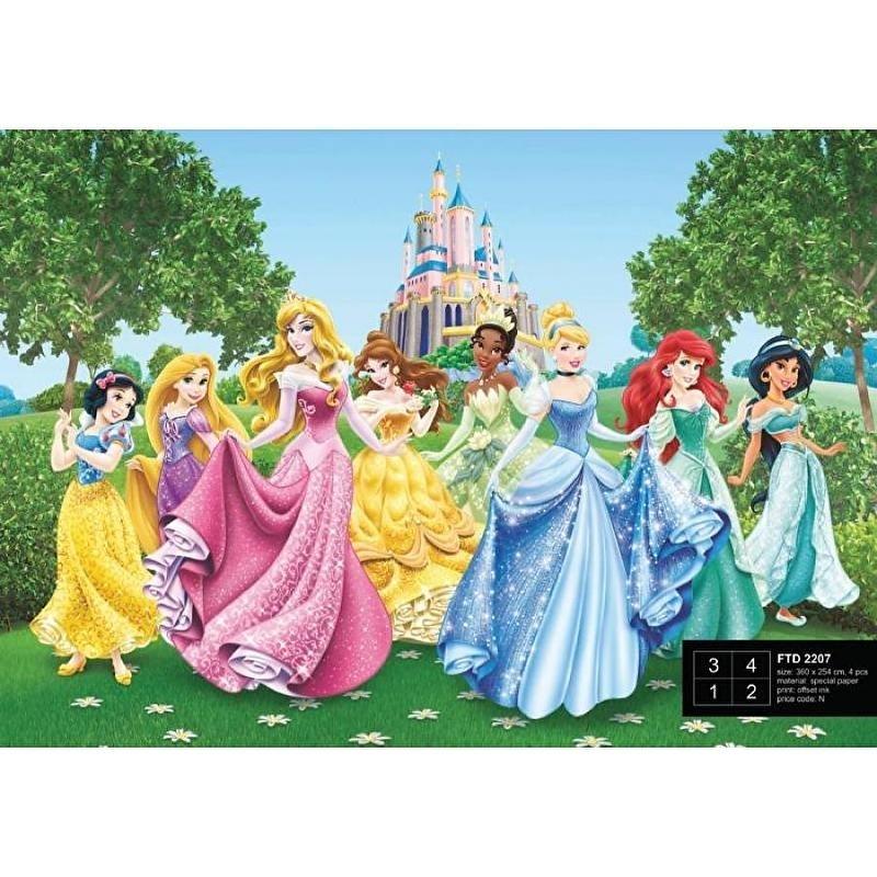Dutch Wallcoverings Fotobehang Disney Princesses FTD2207