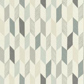 Onszelf Most Fabulous behang 531022 geometrisch behang blauw grijs