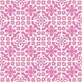 046. Esta Home Tegelmotief roze 128046