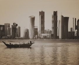 Dutch Fotobehang Doha Vintage Brown