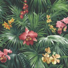 Noordwand Global Fusion Tropisch bloembehang 6434