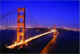 201 Dutch DigiWalls Fotobehang 70003 Golden Gate Bridge