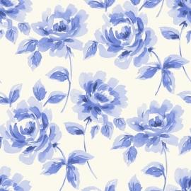 014. Esta Home Aquarel rozen helder blauw 128014