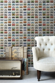 WallpaperXXL Oude Cassettes 158506