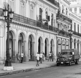 Dutch Fotobehang Havana Zwart Wit
