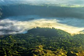 Bali Tropisch Landschap berg 02