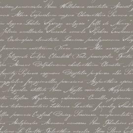 035. Esta Home Handgeschreven latijnse bloemennamen taupe 128035