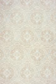 Amazing Cirkelbehang beige zand grijsmetalic 6108