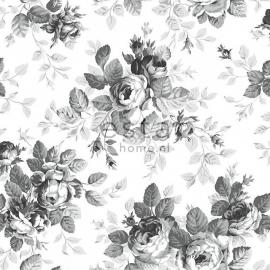 040. Esta Home Rozenbehang in zwart/wit/grijs 138112